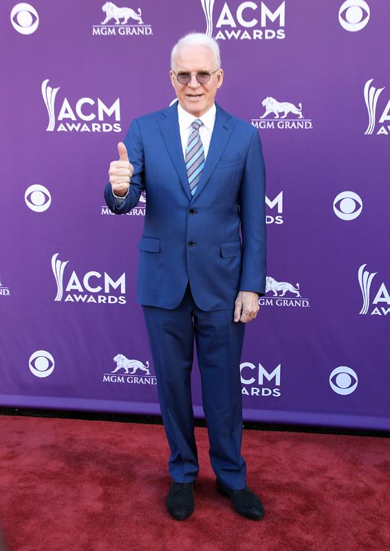 STEVE MARTIN, Live from the RAM Red Carpet, 47th Annual ACM Awards, Las Vegas, NV