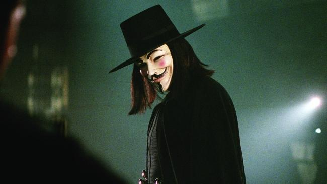 <p> V for Vendetta is all politics. The disfigured product of evil, government experiments, corrupt totalitarian governments, fabricated news, police brutality… it's starting to sound a little too close to home. </p> <p> V is the dramatic embodiment of the idea that one man's terrorist is another man's freedom fighter, and the impact of his actions represents a warning to viewers over the danger of apathy, which can allow a government that isn't held accountable to strip a civilisation of its liberties. And there's a dig in the ribs for the good old U-S-of-A, too, with torture scenes in prisons that look reminiscent of Abu Ghraib and Guantanamo Bay. </p>