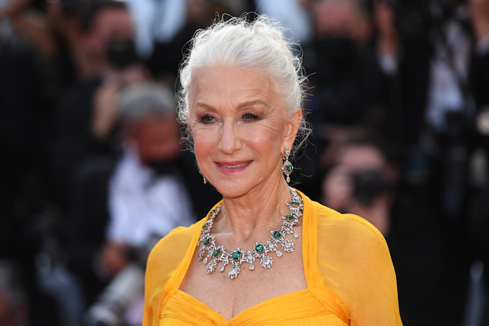 CANNES, FRANCE - JULY 06: Dame Helen Mirren attends the