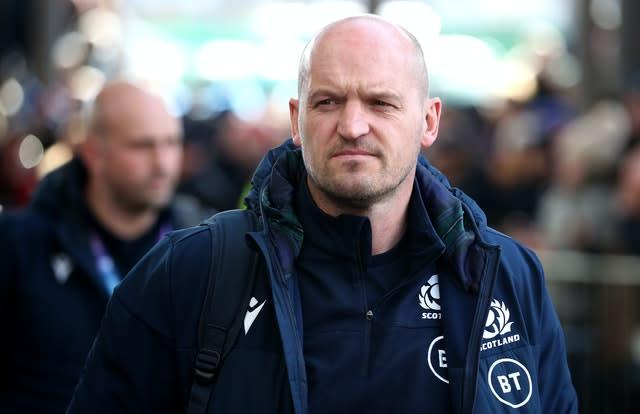 Gregor Townsend is in regular contact with Finn Russell (PA)
