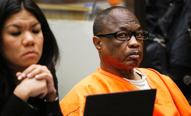 "Lonnie David Franklin Jr., also known as the ""Grime Sleeper,"" was sentenced to death for 10 murder he committed between 1985 and 2007 (AFP Photo/Al Seib)"