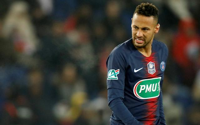 Paris St-Germain would expect a world-record fee for the Brazilian forward Neymar - REUTERS