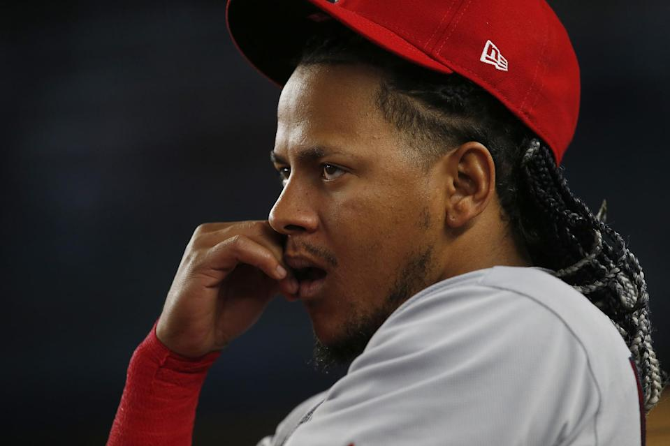 Carlos Martinez looks how most Cardinals fans look right now. (AP)