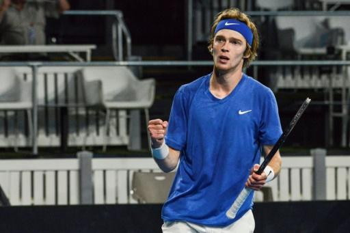 Andrey Rublev is the first man since Dominik Hrbarty in 2004 to win two titles in the first two weeks of a season