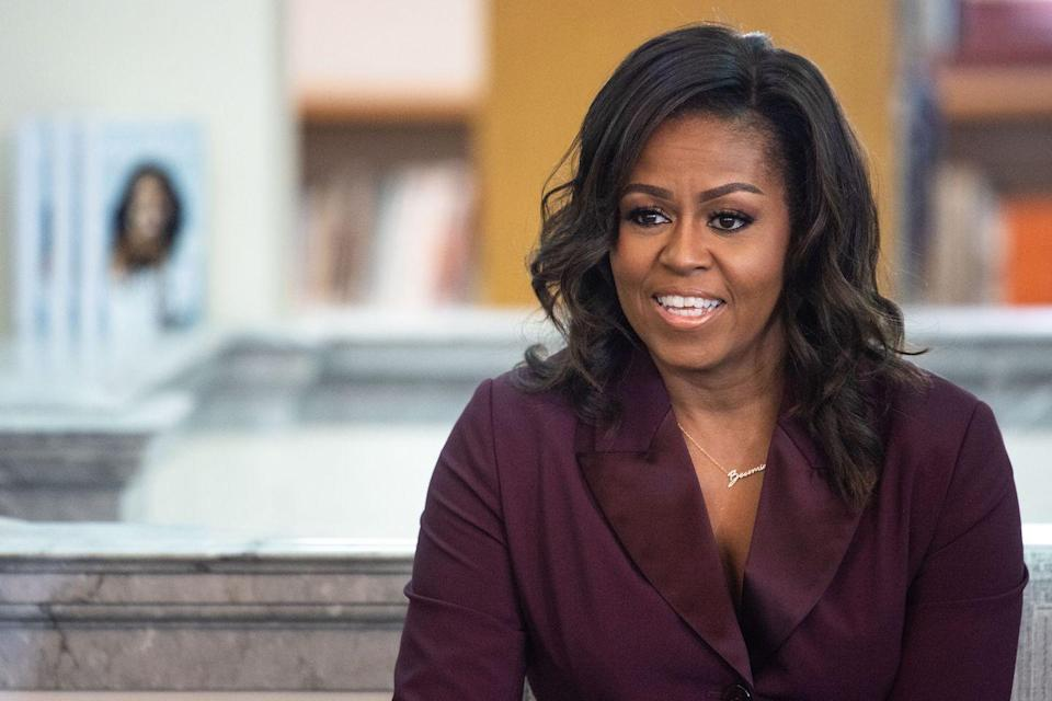 "<p>""There is no limit to what we, as women, can accomplish."" <br><br>Michelle Obama, from a 2012 speech</p>"