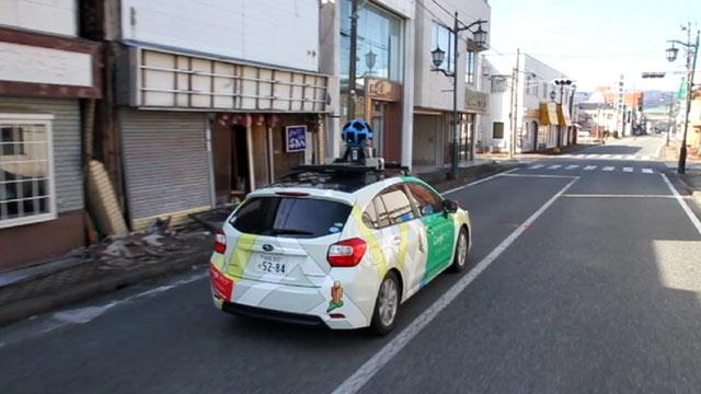 Google Begins Mapping Japan's Nuclear Exclusion Zone