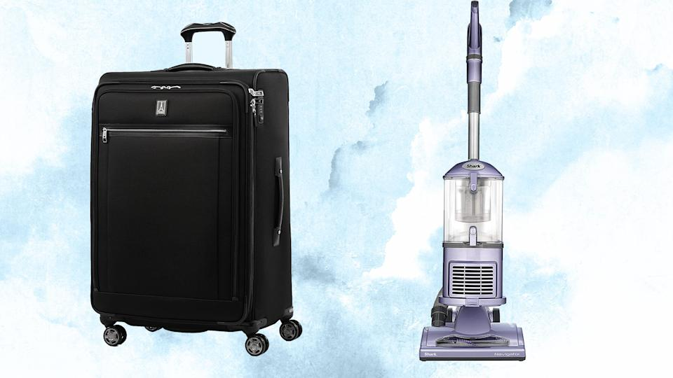 Spend your weekend saving money with Amazon deals on everything from travel luggage to vacuum cleaners.