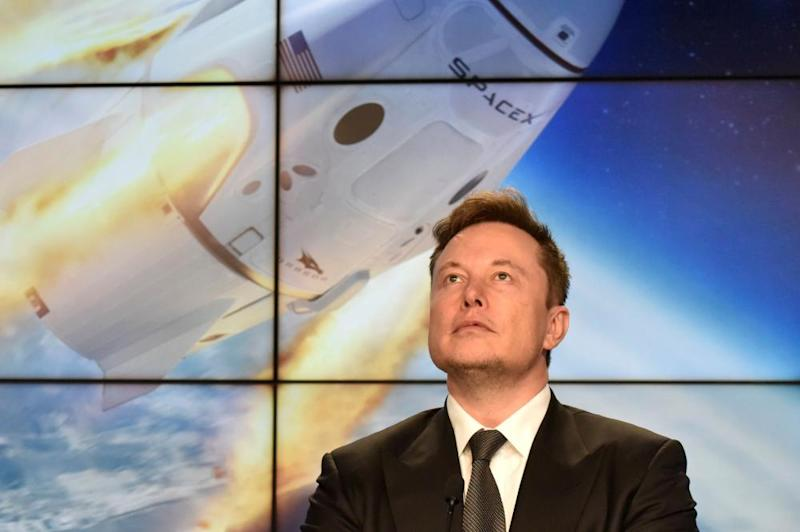 SpaceX founder and chief engineer Elon Musk.