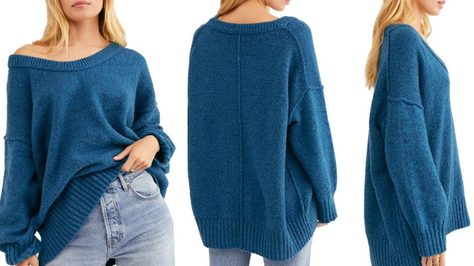 This Free People Brookside Sweater is available at Nordstrom for 41% off. $75 (originally $128)