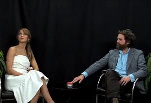 Zach Galifianakis and Jennifer Lawrence | Photo Credits: Funny or Die