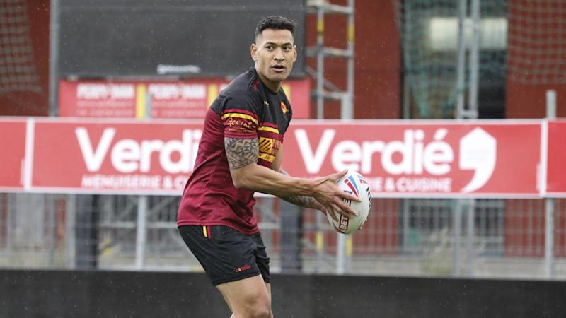 France Catalan Dragons Folau