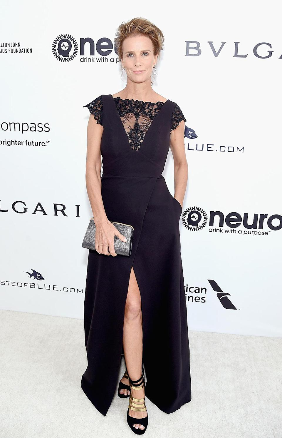 <p>Rachel Griffiths attends the 25th Annual Elton John AIDS Foundation's Academy Awards Viewing Party at The City of West Hollywood Park on February 26, 2017 in West Hollywood, California. (Photo by Jamie McCarthy/Getty Images for EJAF) </p>