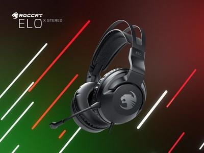 The new ROCCAT Elo X Stereo cross-platform gaming headset delivers supreme stereo sound, impressive comfort and cross-platform compatibility at a stunning value.