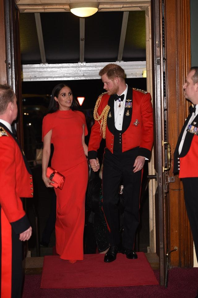 Duke and Duchess of Sussex at Mountbatten Festival of Music