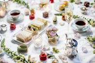 """<p>The Savoy is steeped in royal history so what better way to celebrate Prince Harry and Meghan Markle's nuptials? <br>As part of the hotel's long-standing connection with the royal clan, The Savoy's American Bar will be serving up new cocktail, 'The Royal Welcome', to honour the soon-to-be newlyweds. From 1st May, guests can also book the hotel's Royal Afternoon Tea which features the Queen's favourite cake and Tea for Heroes, an English Breakfast blend created for Terry Clark (an RAF veteran of the Battle of Britain). <br>Prices start at £65 and bookings can be made through the <a rel=""""nofollow noopener"""" href=""""http://www.fairmont.com/savoy-london/"""" target=""""_blank"""" data-ylk=""""slk:website"""" class=""""link rapid-noclick-resp"""">website</a>. <em>[Photo: The Savoy]</em> </p>"""