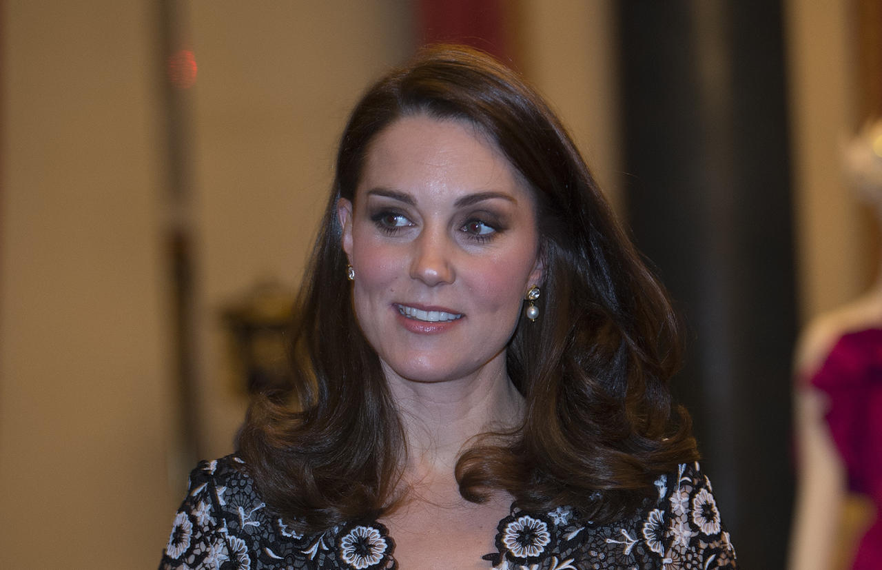 Duchess of Cambridge mingles with fashion heavyweights at London Fashion Week event