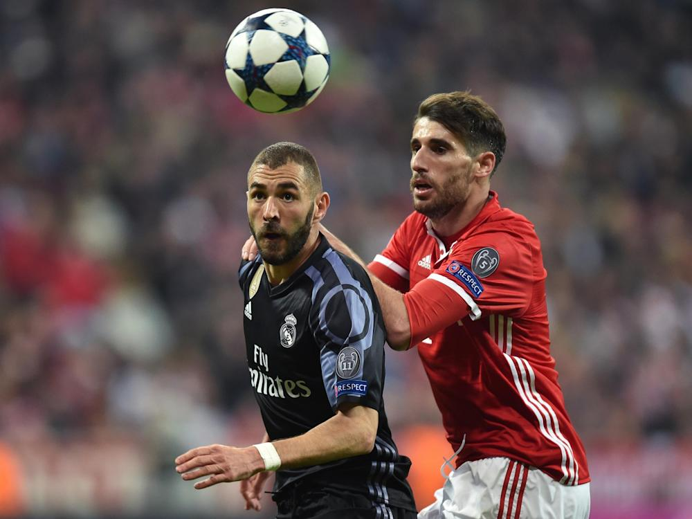 Real and Bayern will battle it out for a place in the Champions League: Getty