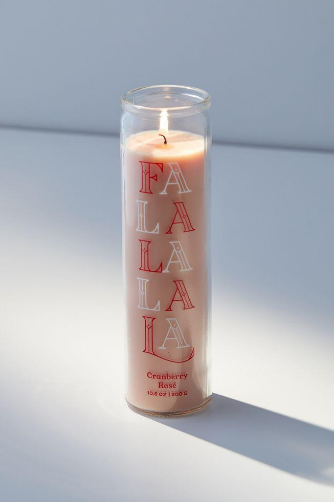 Fa La La - Paddywax Holiday Pillar Candles.