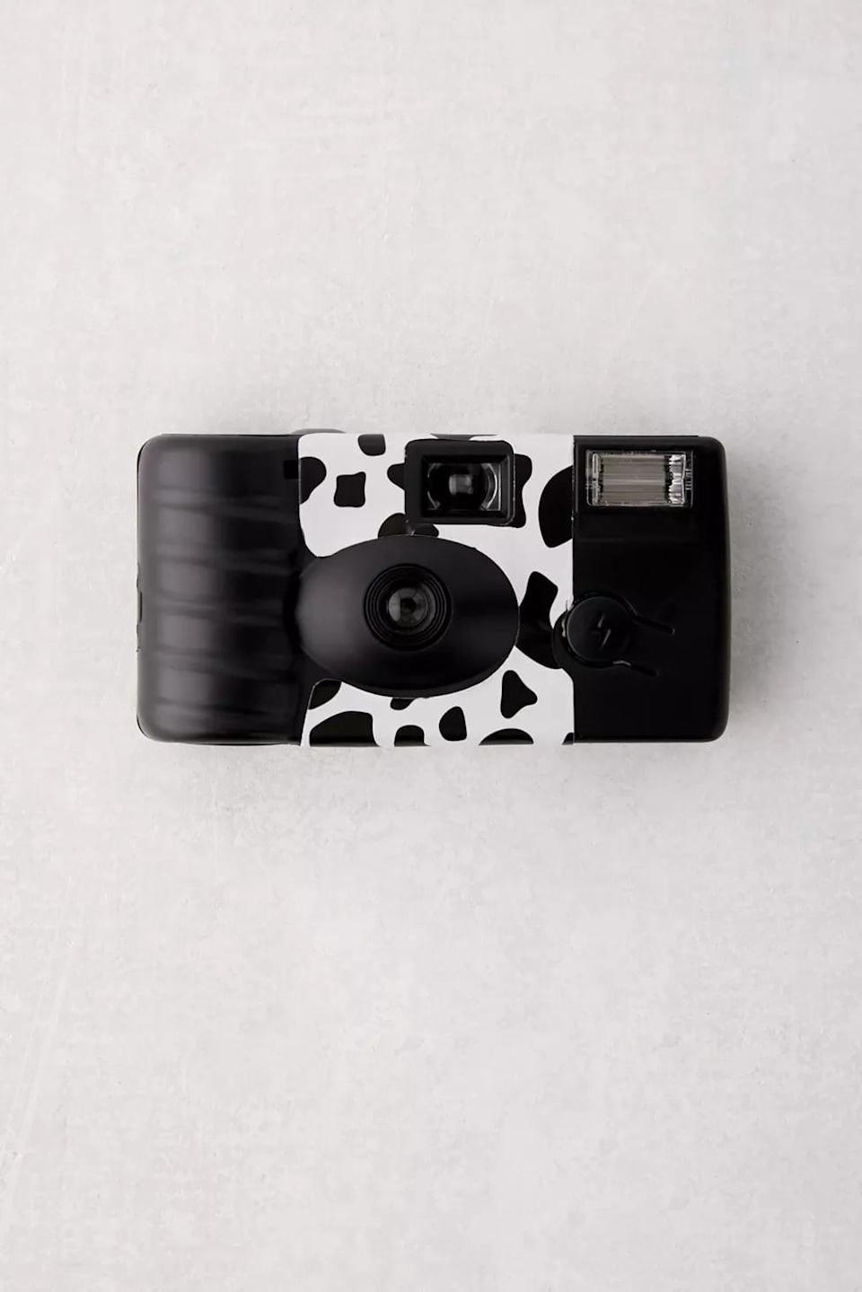<p>Nothing is more fun than a disposable camera! This <span>Disposable Camera</span> ($15) has a fun cow print.</p>