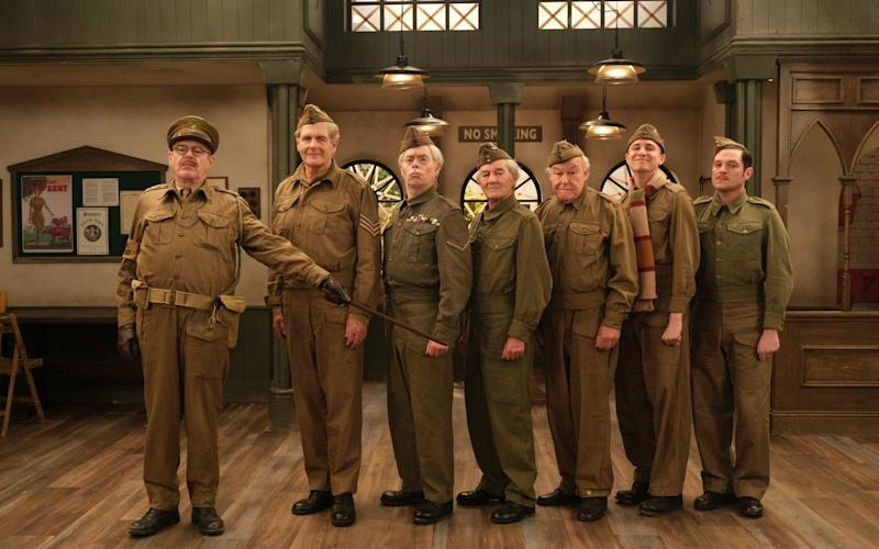 The cast of Dad's Army: The Lost Episodes - UKTV