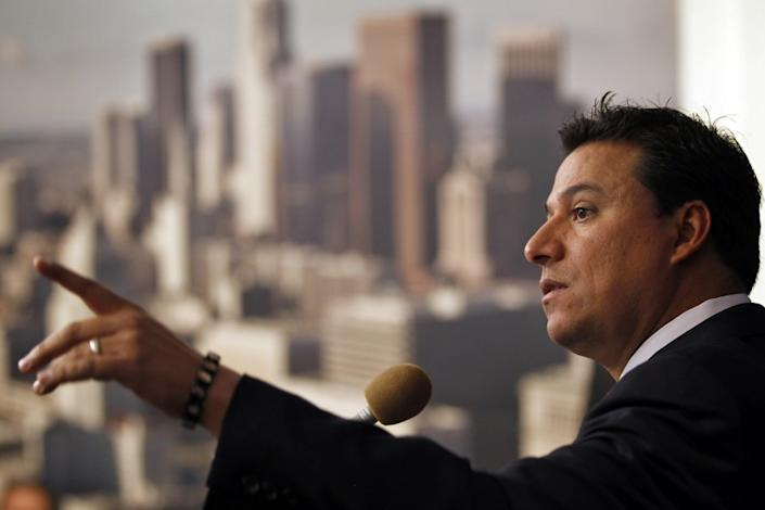 """The arrest on corruption charges of Los Angeles City Councilman Jose Huizar points up the need to reform how City Council members can wield undue power over real estate development. <span class=""""copyright"""">(Los Angeles Times)</span>"""