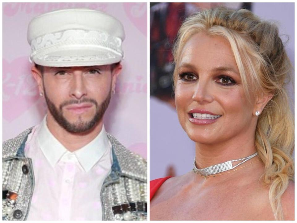 Brian Friedman and Britney Spears (Getty)
