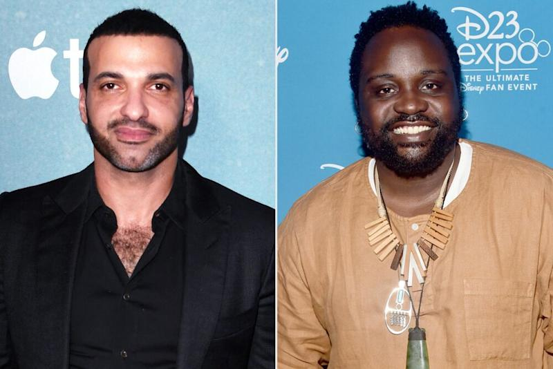 Haaz Sleiman and Brian Tyree Henry | MARK RALSTON/AFP via Getty; Alberto E. Rodriguez/Getty