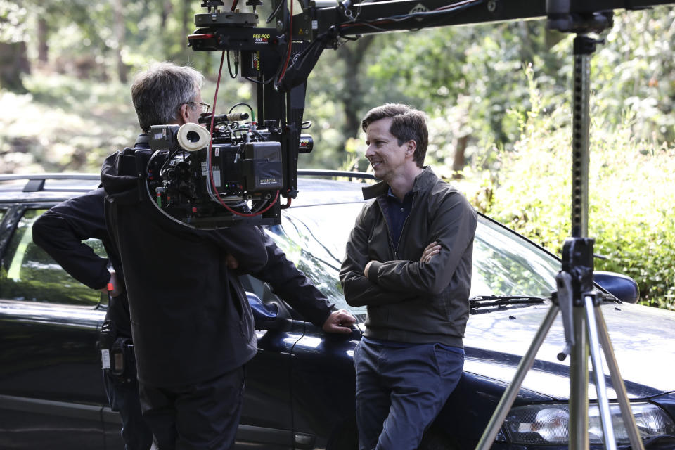 BEHIND THE SCENES Paul Hughes (LEE INGLEBY) -  (Fifty Fathoms - Photographer: Rachel Joseph)