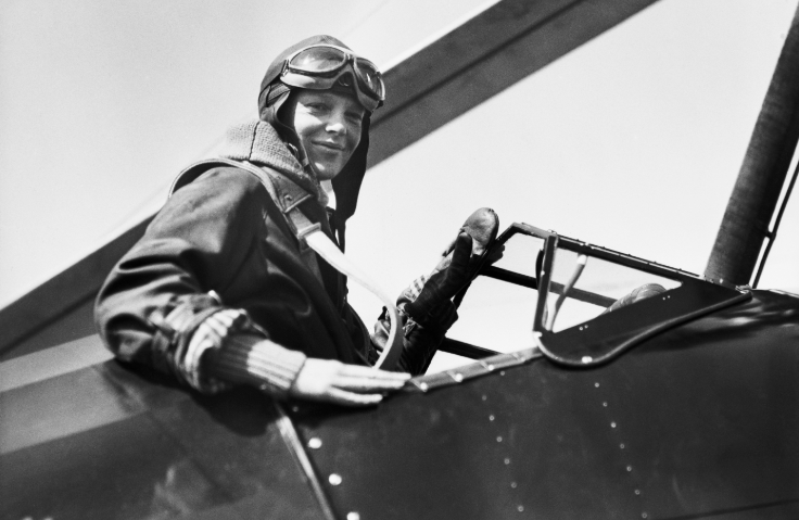 Amelia Earhart in the cockpit of her autogiro after setting a new altitude record for women in planes of this type. (Photo: Getty Images)
