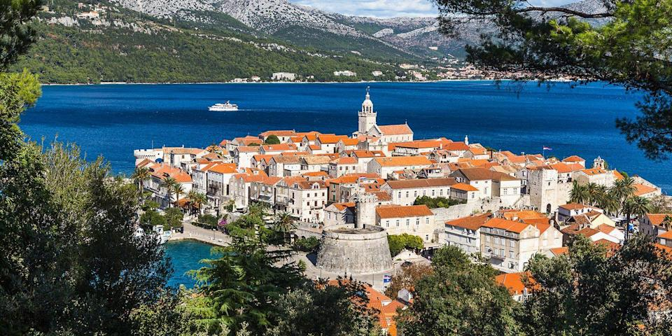 """<p>While Hvar gets most of the attention, Korcula is another beautiful island on Croatia's Dalmatian Coast. Its <a href=""""https://go.redirectingat.com?id=74968X1596630&url=https%3A%2F%2Fwww.tripadvisor.com%2FAttraction_Review-g303810-d548274-Reviews-Korcula_Old_City-Korcula_Island_Dubrovnik_Neretva_County_Dalmatia.html&sref=https%3A%2F%2Fwww.redbookmag.com%2Flife%2Fg36983737%2Fmost-beautiful-islands-in-the-world%2F"""" rel=""""nofollow noopener"""" target=""""_blank"""" data-ylk=""""slk:ancient walled town"""" class=""""link rapid-noclick-resp"""">ancient walled town</a> is an idyllic place to roam, take in the Adriatic Sea views, and lunch on tube-shaped, hand-rolled pasta (an island specialty). </p>"""