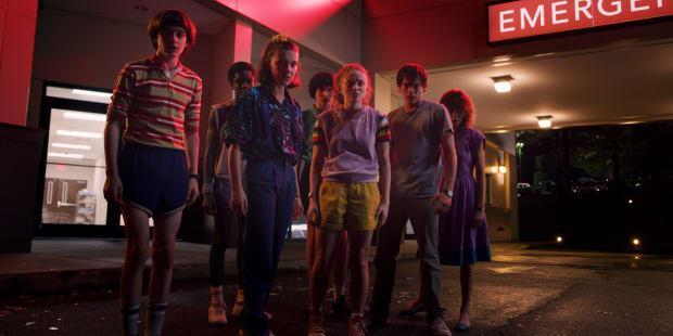 ddc8cdf581 The 'Stranger Things 3' Costumes Include Eleven's '80s Mall Rat Makeover  and Steve's New Sailor Outfit