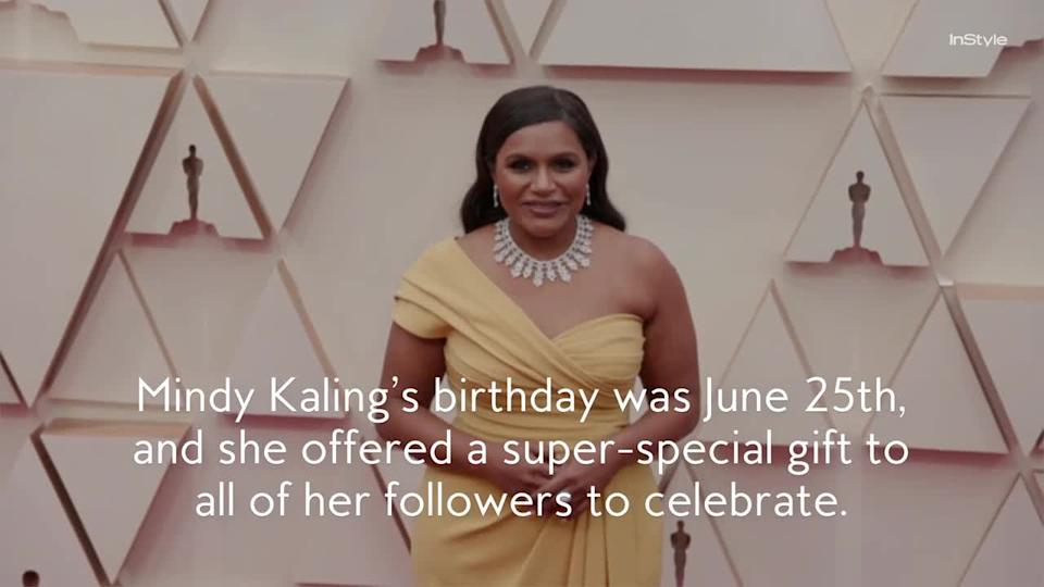 Mindy Kaling Has Given Birth to Her Second Child After a Secret Pregnancy