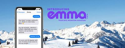 Emma, the world's first digital mountain assistant, is now available at nine world-class ski resorts.