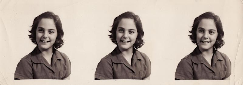 "This circa 1962 photo provided by TLC shows a school photo of Janis Hirsch, at approximately 12 years old. Hirsch's note, among some 800,000 sent to Mrs. Kennedy in the two months after President John F. Kennedy's Nov. 22, 1963, killing in Dallas, is featured along with about 20 others in ""Letters to Jackie: Remembering President Kennedy,"" airing 9 p.m. EST Sunday, Nov. 17, 2013, on TLC. (AP Photo/Courtesy TLC)"