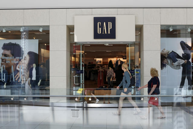 This is the sign a Gap store in Pittsburgh. (AP Photo/Gene J. Puskar)