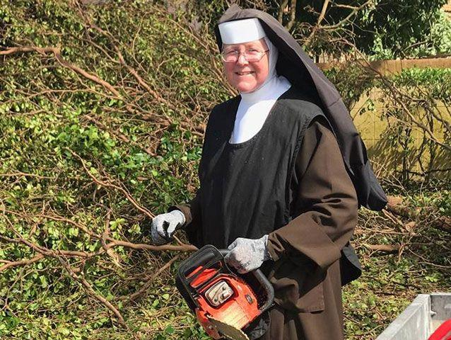 Sister Margaret Ann has been praised for helping the community. Source: Facebook
