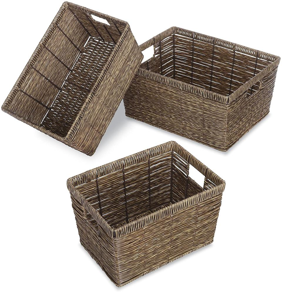 How cute are these little baskets? (Photo: Amazon)