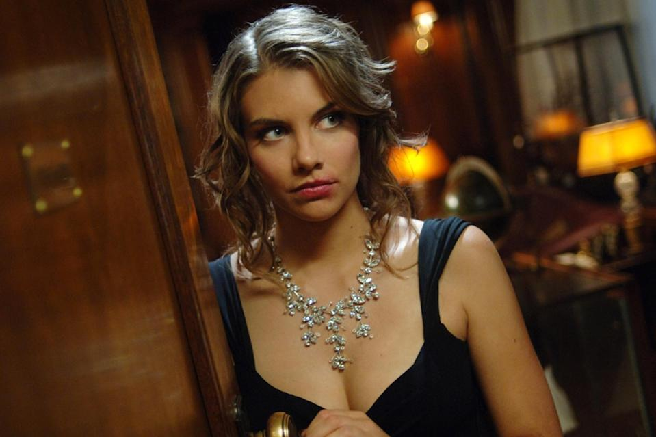Lauren Cohan as Bela Talbot in The CW's <i>Supernatural</i> (Photo: Sergei Bachlakov/The CW)