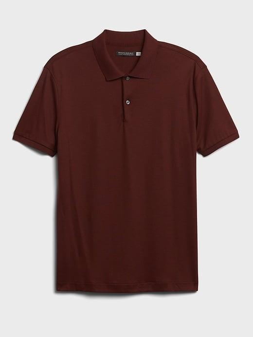 <p>Amp up his business-casual attire (or golf wear) with one of these antiodor and moisture-wicking <span>Banana Republic Luxury-Touch Performance Golf Polos</span> ($55).</p>