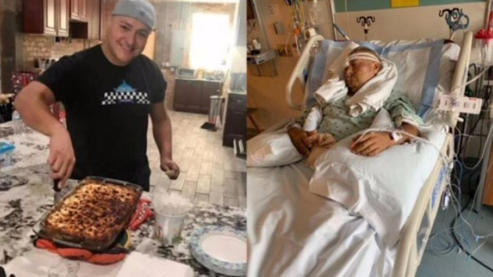 Photos of Officer Yanez's from a GoFundMe page for the family. / Credit: GoFundMe