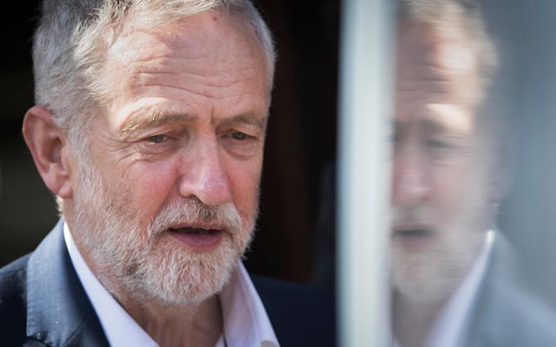 Jeremy Corbyn, the labour leader