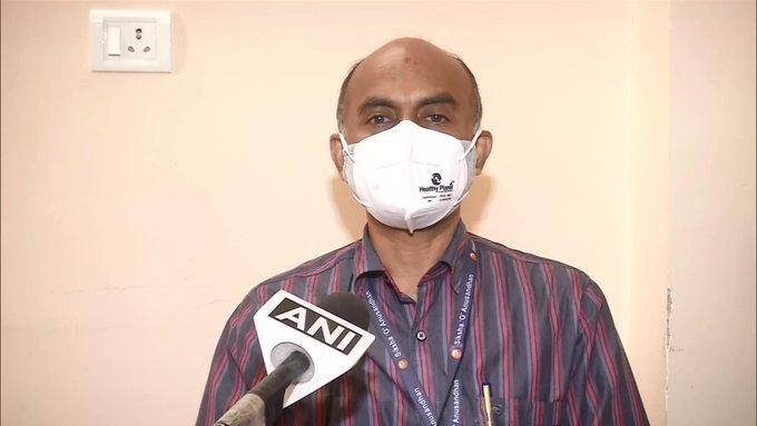 Dr. E Venkata Rao, Principal investigator of COVAXIN trial at Institute of Medical Sciences and SUM Hospital, Bhubaneswar (Photo/ANI)