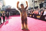 <p>Chewbacca (2018 Getty Images) </p>