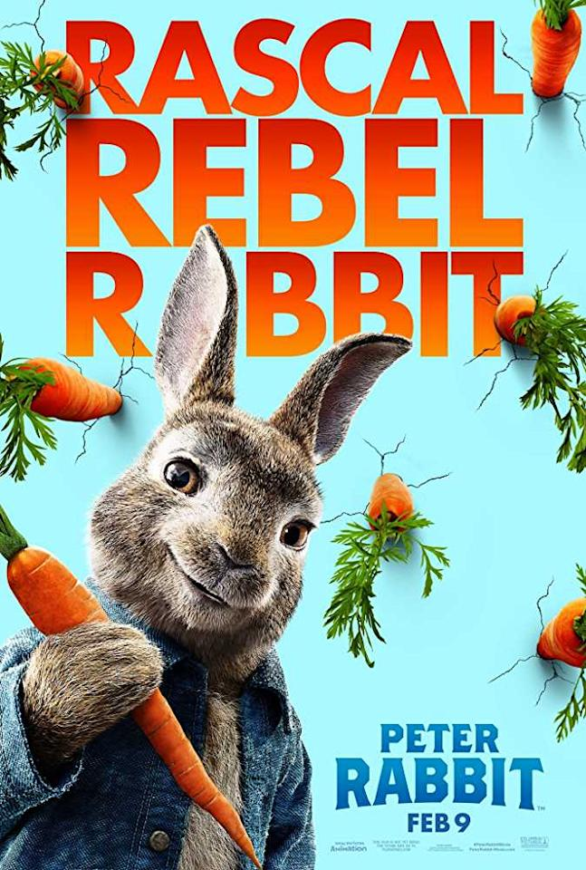 <p>Peter Rabbit, the mischievous and adventurous hero who has captivated generations of readers, now takes on the starring role of his own irreverent, contemporary comedy with attitude. In the film, Peter's feud with Mr. McGregor escalates to greater heights than ever before as they rival for the affections of the warm-hearted animal lover who lives next door. </p>