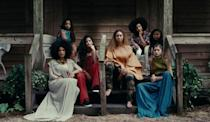 <p>We can't handle the styling of Beyoncé's lady gang in this shot, and we love that Quvenzhané Wallis and Zendaya are part of the crew.<br></p>
