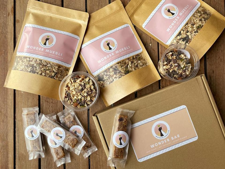 Wonder Penguin muesli and energy bars will be available for purchase at the cafe. — Picture by Steven Ooi KE