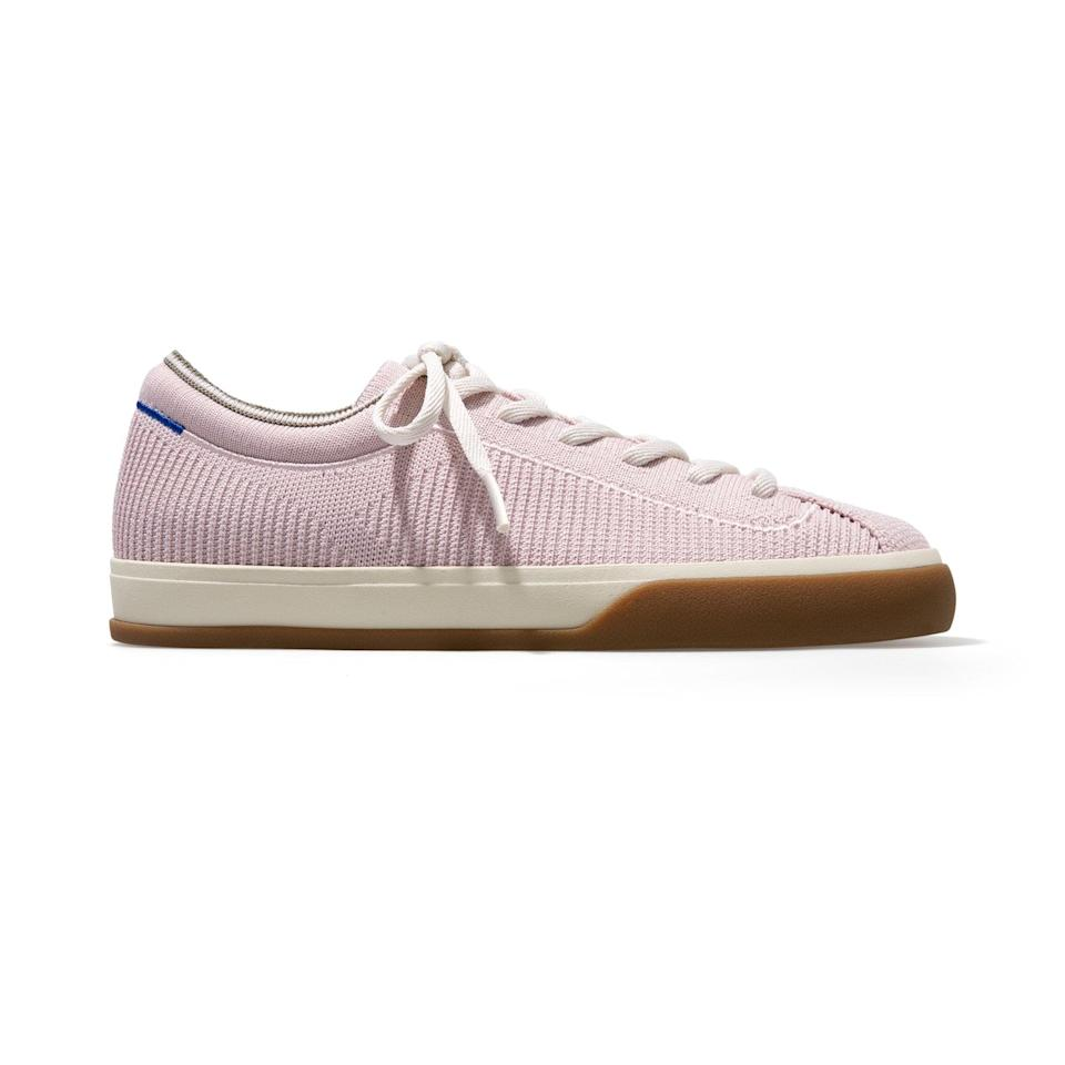<p><span>Rothy's Lace-Up Sneakers in Lilac</span> ($165)</p>