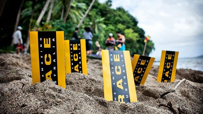 the amazing race clues in the sand