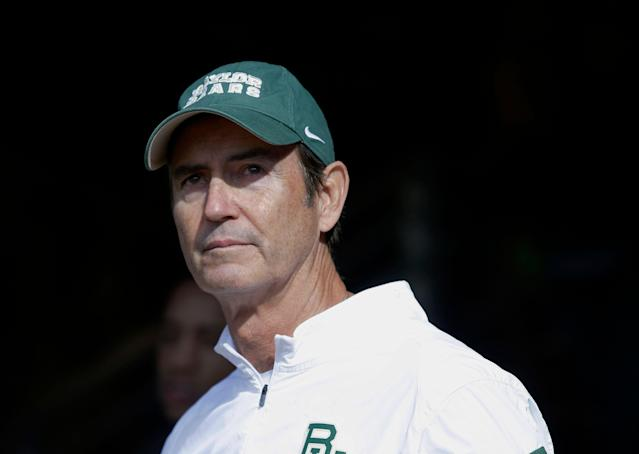Art Briles was hired as the next head coach at a Texas high school, his first coaching job in the United States since he was fired from Baylor in 2016. (AP/LM Otero)