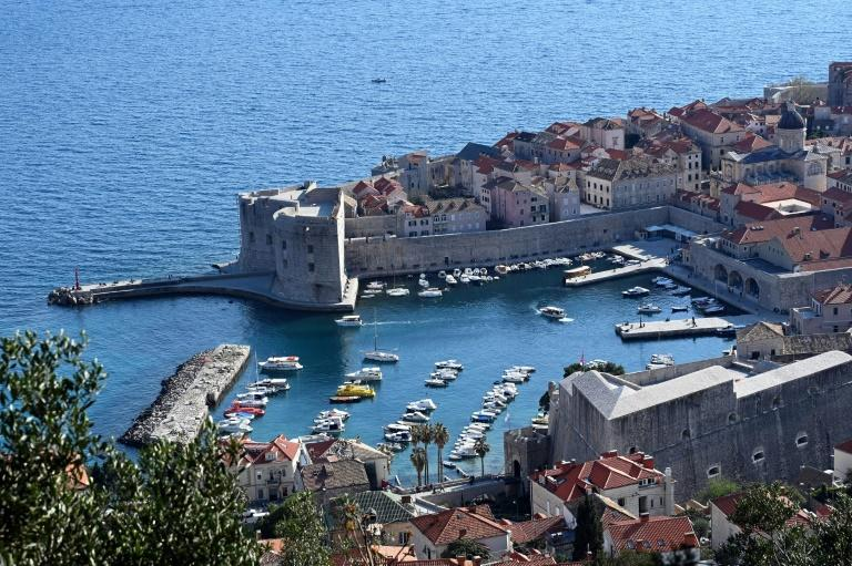 The cruise ships with their thousands of passengers are no longer stopping in Dubrovnik's small harbour